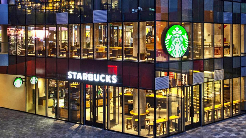 A fucking Starbucks