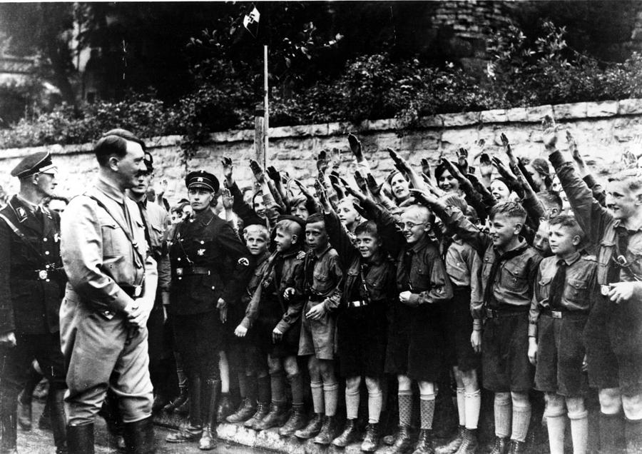 Hitler with his Youth
