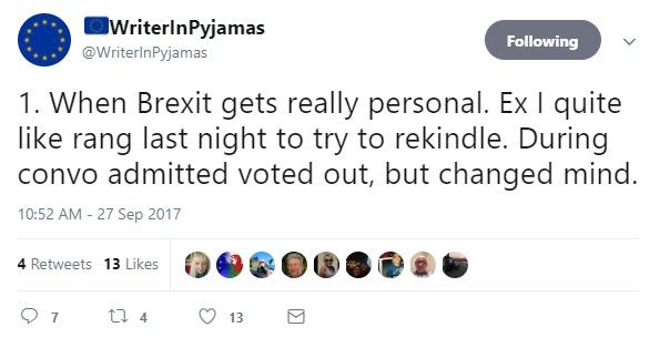 Ex regrets